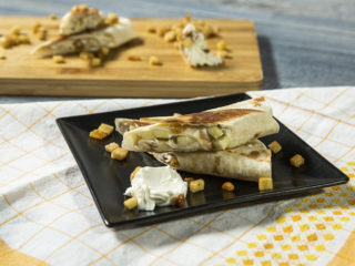 Apple and Raisin Tortilla Roll-Ups