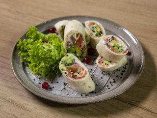 Smoked Salmon and Avocado Rolls