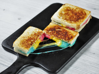 3-Color Mozzarella Sandwich