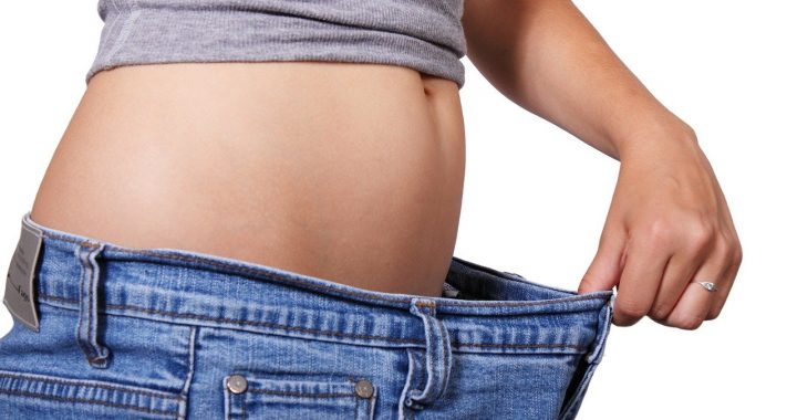 Dieting woman