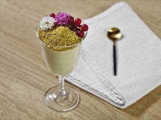 Mango and Pistachio Mousse
