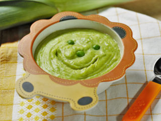 Pea and Potato Puree