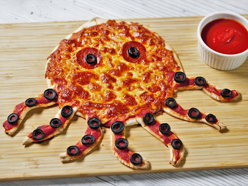 Octopus-Pizza