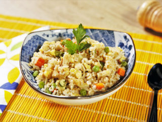 Chicken Rice Stir-Fry