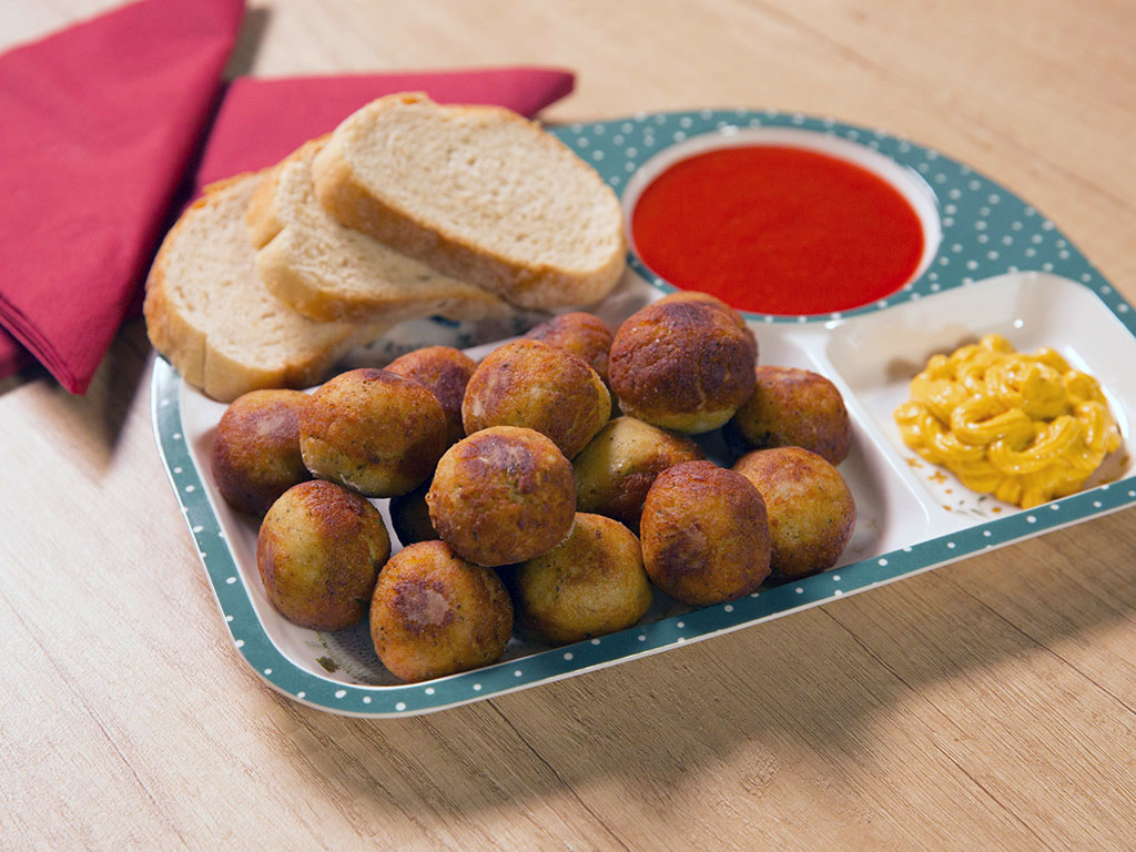 Chicken Breast and Apple Meatballs
