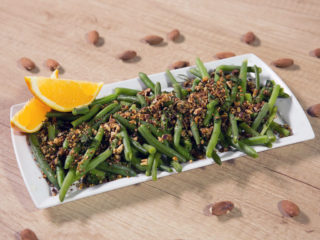 Green Beans with Fried Almonds