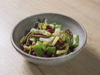 Snap Pea and Three Bean Salad