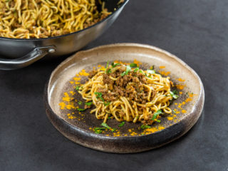 Ground Beef Noodle Stir-Fry