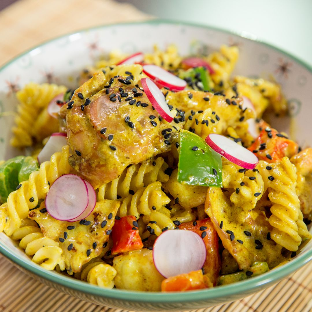 curry-octopus-fusilli-pasta
