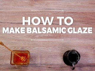 How to Make Balsamic Glaze -