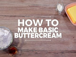 How to Make Basic Buttercream -