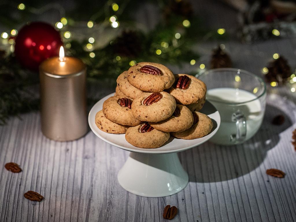 Pecan-Shortbread-Cookies