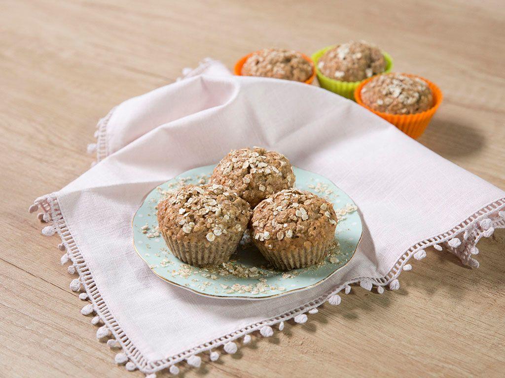 Banana-Oat-Bran-Muffins