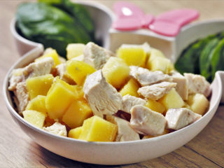 Apple and Potato Chicken Salad