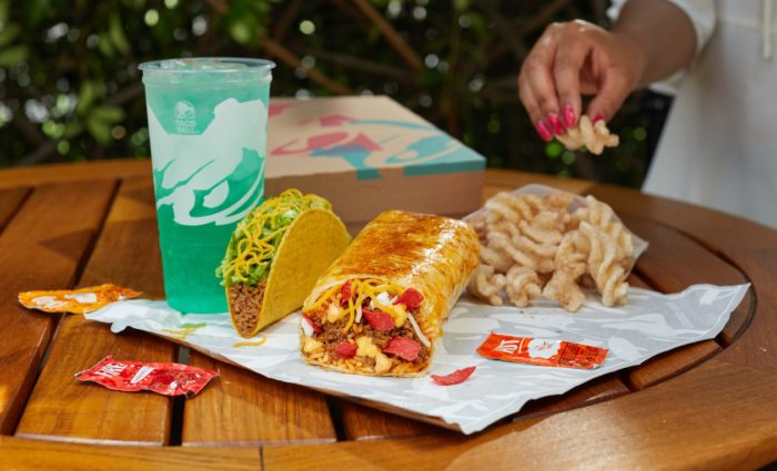 Taco Bellțs Grilled Cheese Burrito
