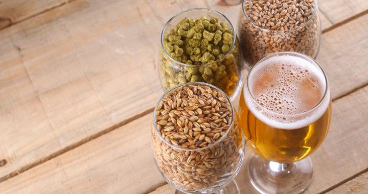 Light beer and ingredients