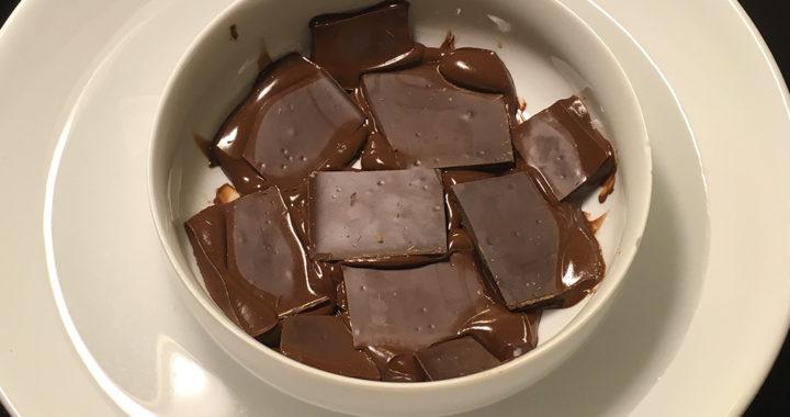 Chocolate in bain-marie