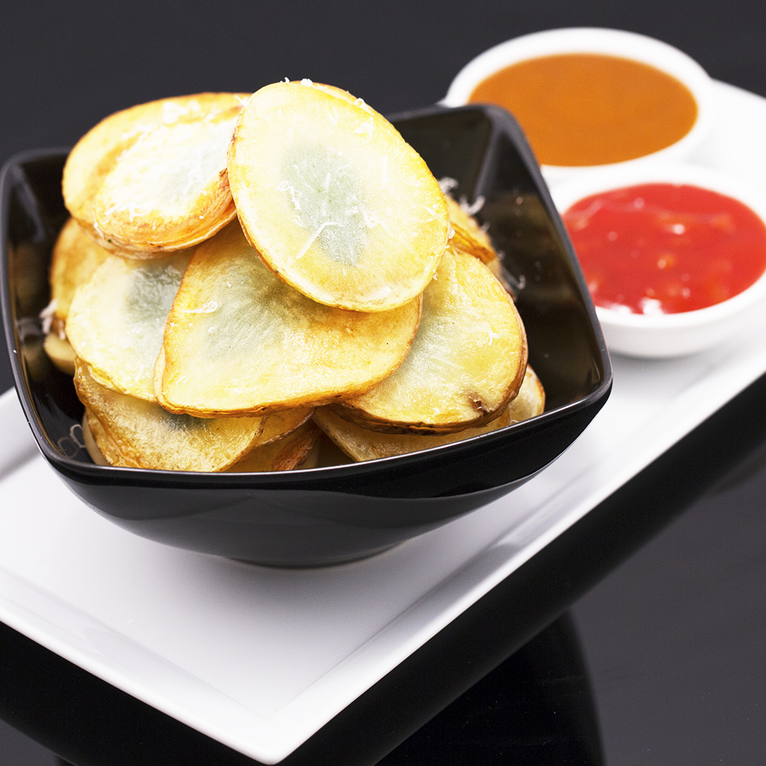 fried-potato-chips-with-basil-and-parmesan