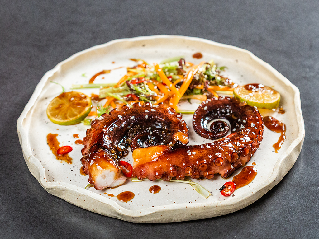Korean Fried Octopus