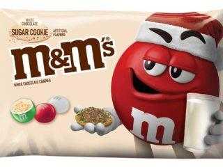 M&M White Chocolate Sugar Cookie