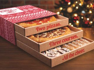 Pizza Hut's Triple Treat Box