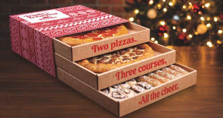 Pizza Hut's Triple Treat Box
