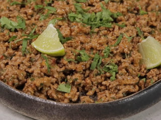 Minced Beef with Homemade Tortillas