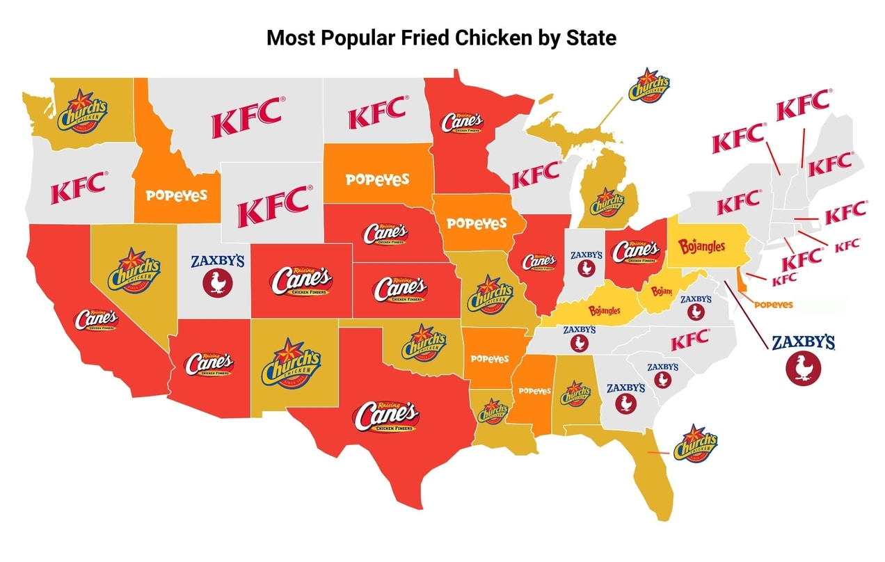 fried-chicken-by-state