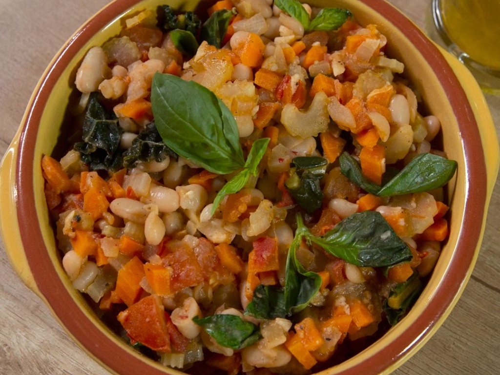 White Bean Tomato Stew