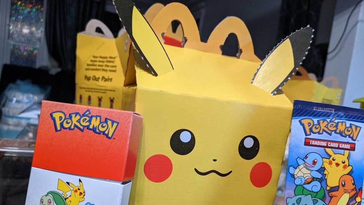 McDonald's New Pokémon Happy Meals Are Being Bought en Masse