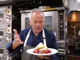Wolfgang Puck Makes Us His Signature Dishes and Talks Dining Innovation