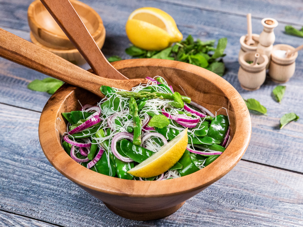 Green-Bean-and-Rice-Noodle-Salad