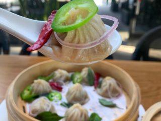 pho soup dumplings